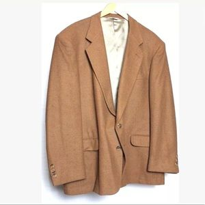 Hunt Valley100% Camel Hair Sports Coat Two Button